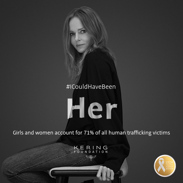 #ICouldHaveBeen: Kering launches White Ribbon for Women campaign