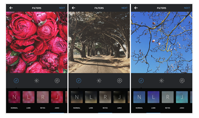 Instagram unveils three new filters and emoji hashtags