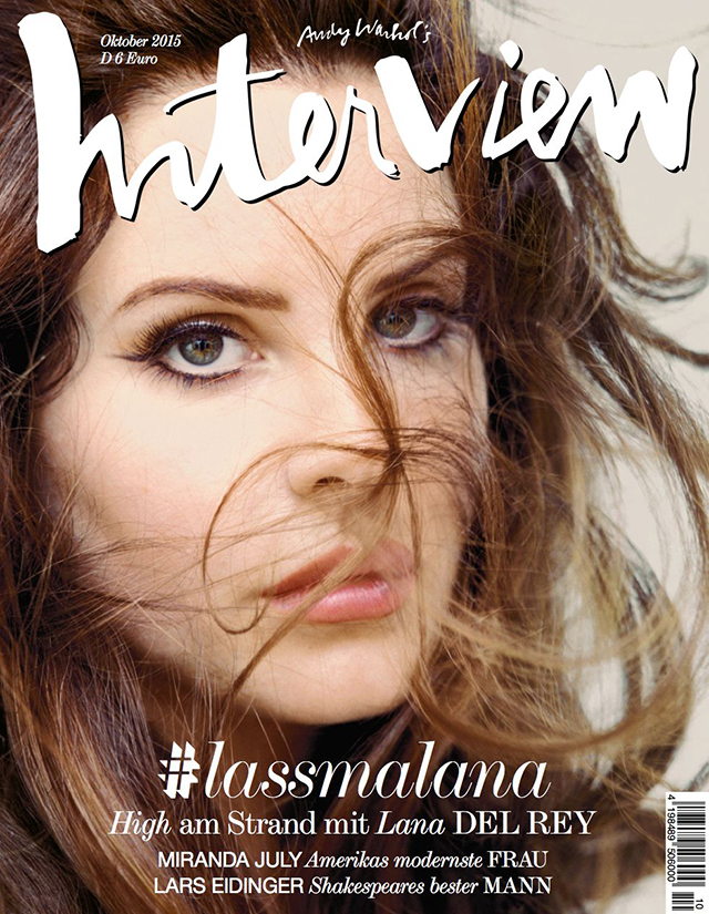 Lana Del Rey, Kate Mara and Amanda Murphy cover Interview Germany
