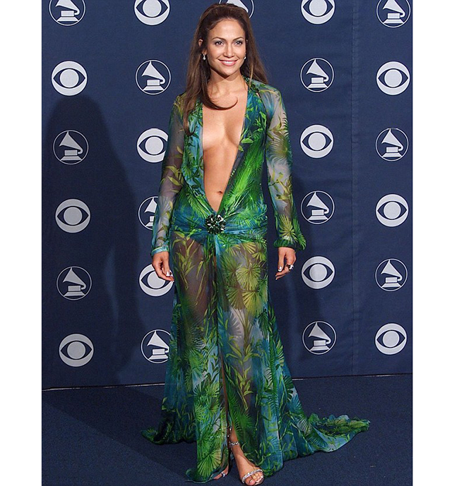 Jennifer Lopez's Versace look at 2000 Grammy's was the inspiration for Google Images