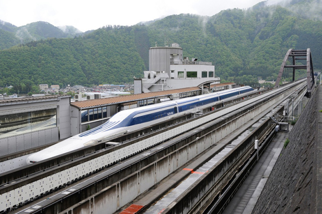 Japan's Maglev bullet breaks its own world record becoming fastest train on the planet