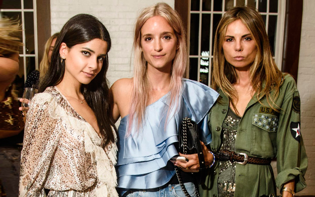 Jimmy Choo and Net-a-Porter celebrate at New York Fashion Week