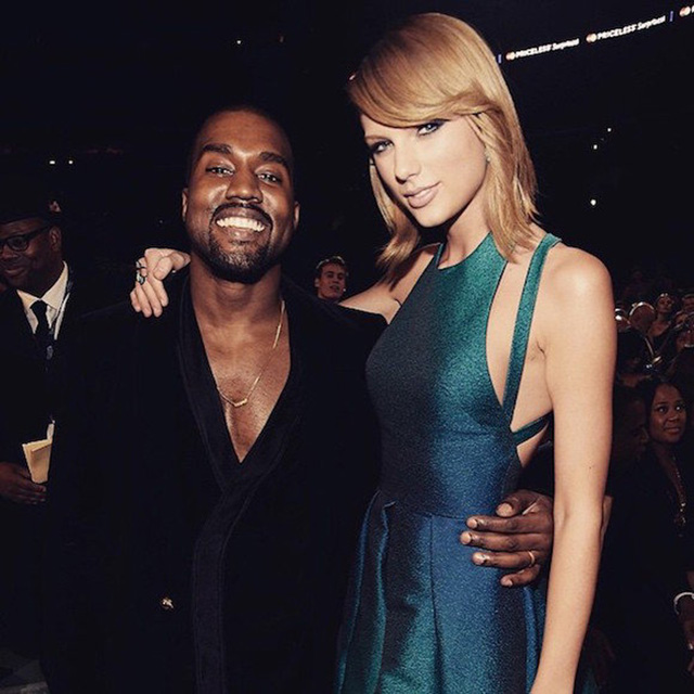 Kanye West announces collaboration with Taylor Swift