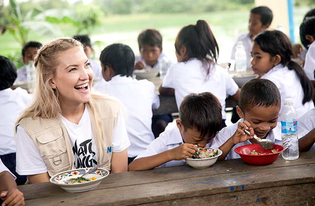 Sustainable fashion: Kate Hudson joins Michael Kors to fight global hunger