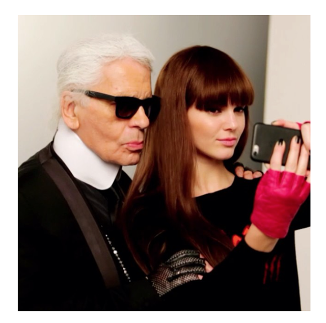 Kendall Jenner is the new face of Karl Lagerfeld Spring/Summer 15