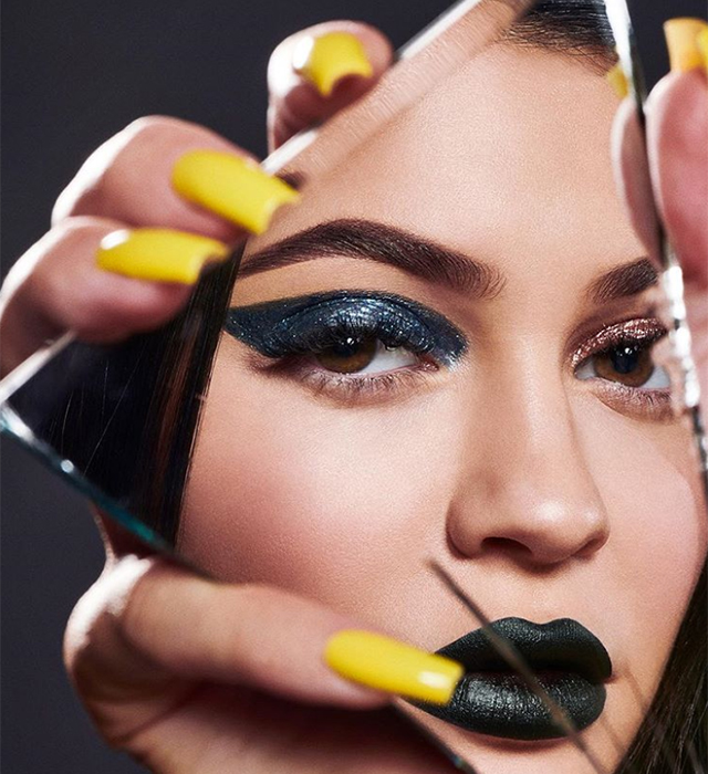 Kylie Jenner fronts first beauty campaign since giving birth