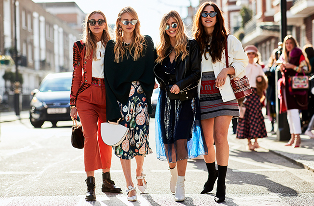 Part four: The best street style looks from London Fashion Week