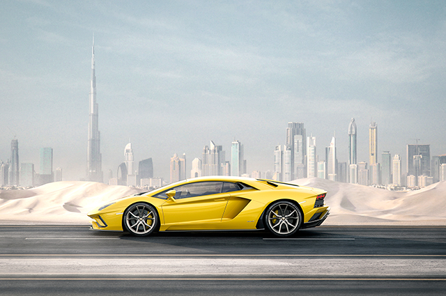 Dubai exclusive: Lamborghini unveils the new Aventador S