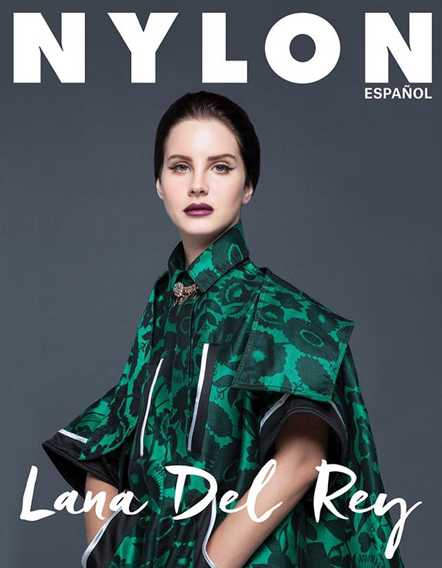 Lana Del Rey appears on five different Nylon Mexico covers