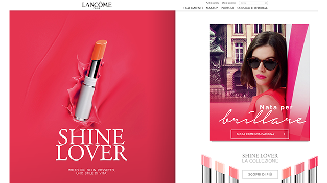 Lancôme celebrates 80th anniversary with online game and competition