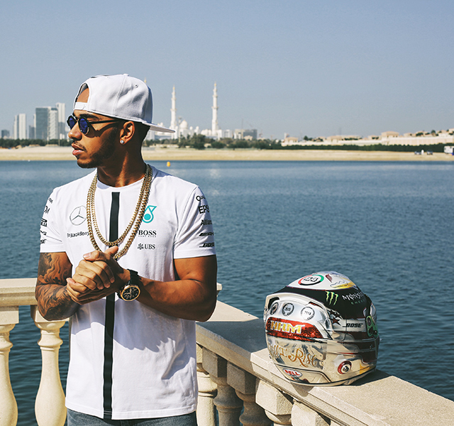 F1 driver Lewis Hamilton on racing, recording records and his dad