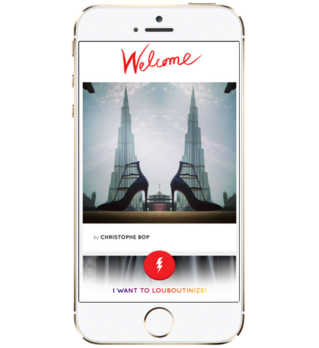 Christian Louboutin launches new photo filter app
