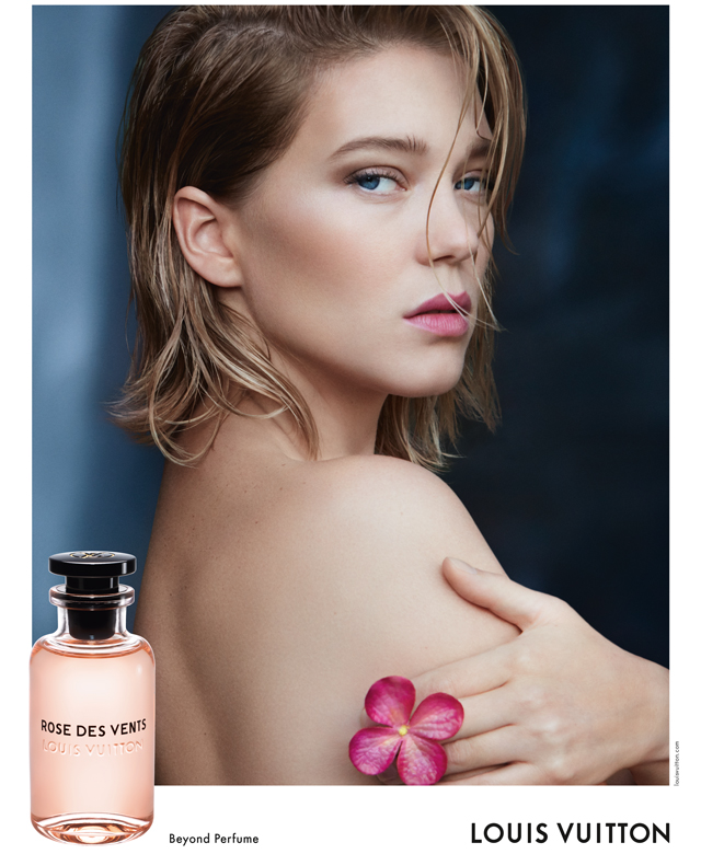 Louis Vuitton Les Lea: The face of the fragrance