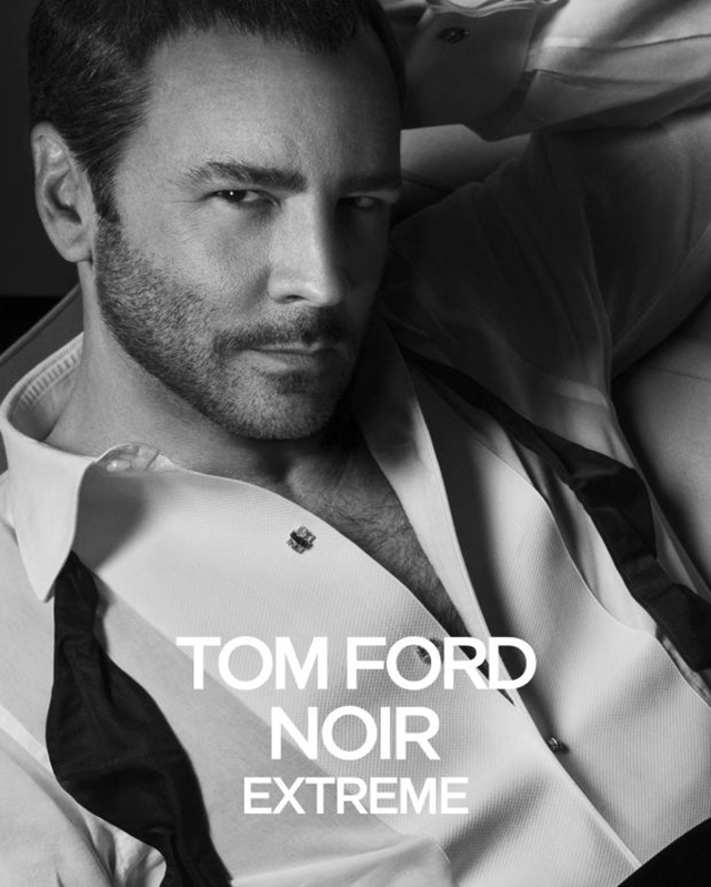 Tom Ford stars in new fragrance campaign