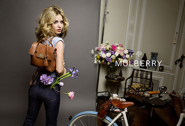 First look: Georgia May Jagger fronts Mulberry's new campaign