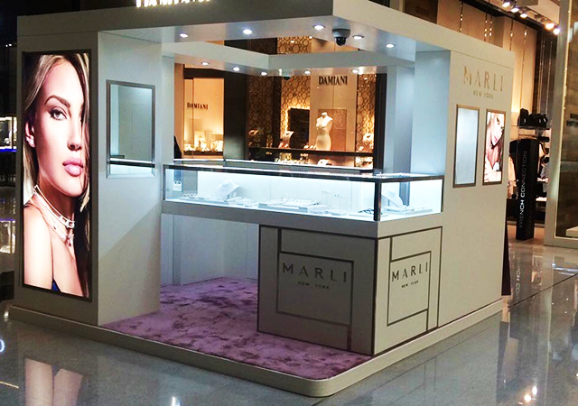 You can now shop Marli's fine jewellery creations at its pop-up store in The Dubai Mall