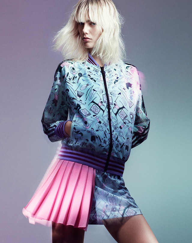 Mary Katrantzou and Adidas Originals collaborate on new collection