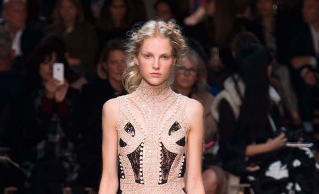 Paris Fashion Week: Alexander McQueen Spring/Summer 16