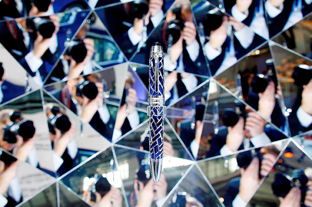Penned for greatness: Montblanc creates the BMW centennial pen