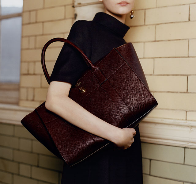 New look: Mulberry's iconic Bayswater handbag