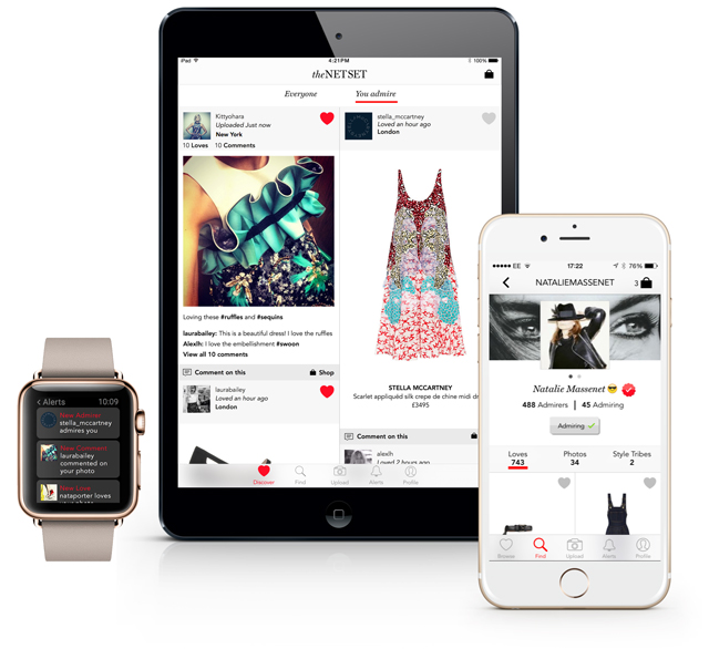 Breaking: Net-a-Porter announce a pioneering new shoppable social media hybrid app