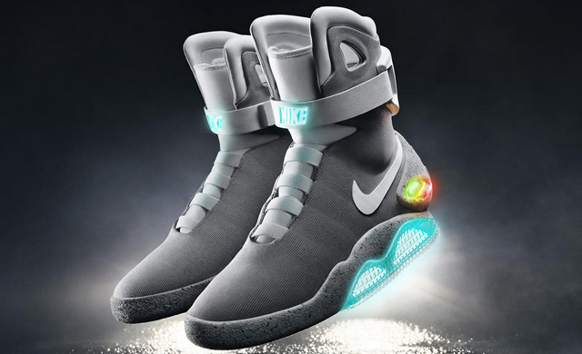 Great Scott! The Nike Mag has arrived