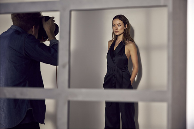 Olivia Wilde is the face of H&M's Conscious Exclusive ad campaign