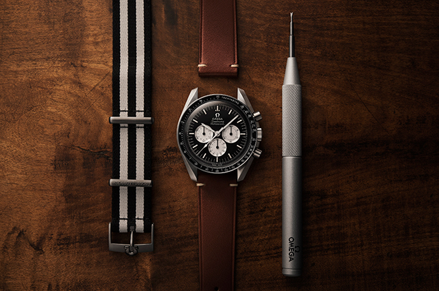 Time check: Omega's Speedmaster Speedy Tuesday timepiece