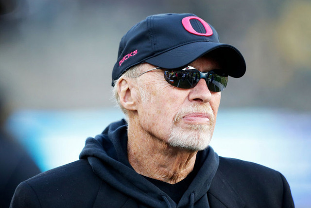 Nike founder Phil Knight to leave role as chairman
