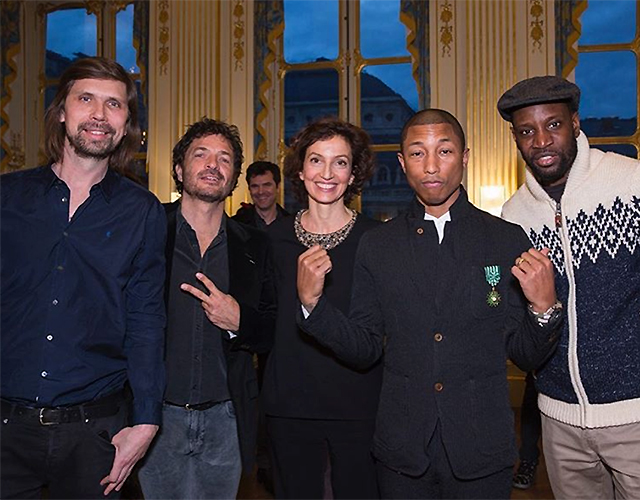 Just in: Pharrell Williams awarded French honour