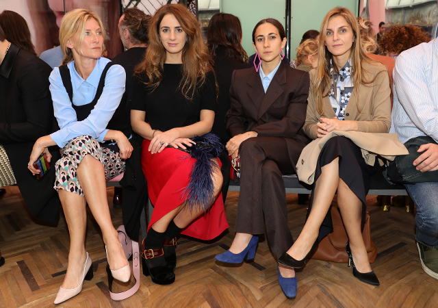 Front row at Prada's Cruise '18 show