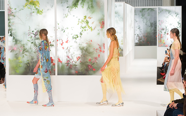 London Fashion Week: Preen by Thornton Bregazzi Spring/Summer '18