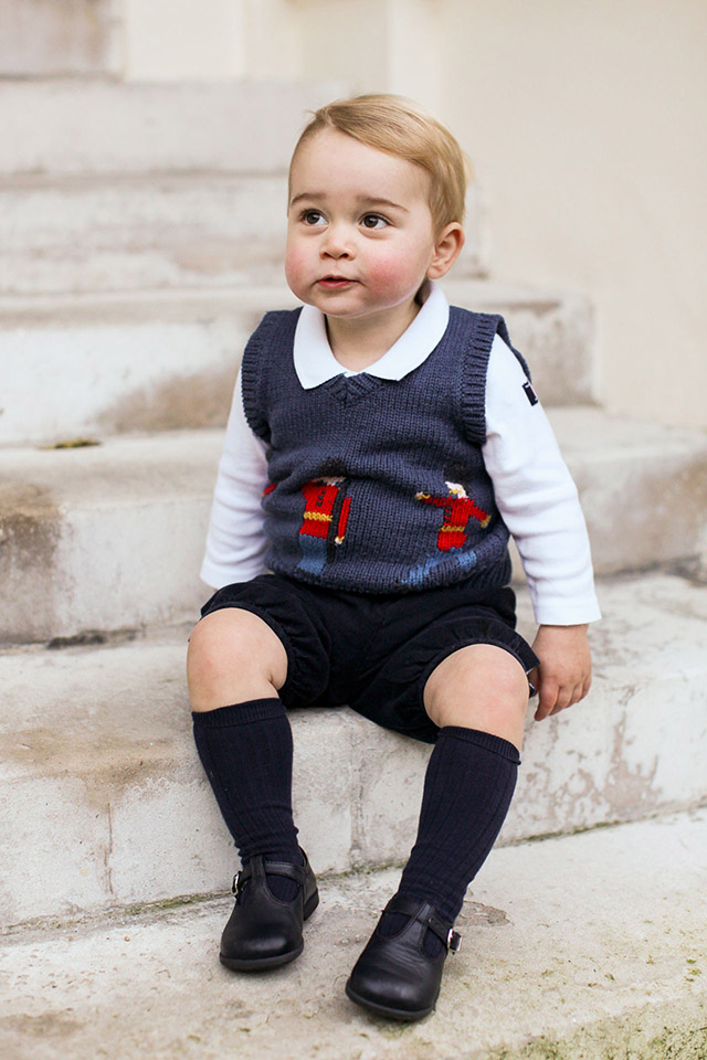 Prince George confuses his fine bone china with the country