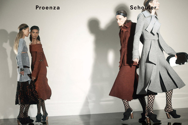 First look: Proenza Schouler debuts its new AW15 campaign