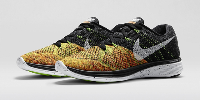 Nike's new Flyknit Lunar 3 for Spring/Summer 15 is unveiled