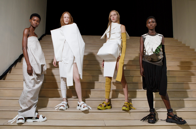 Paris Fashion Week: Rick Owens Spring/Summer '18
