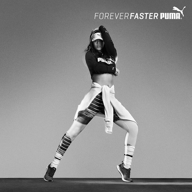 First look: Rihanna gets sporty for new Puma campaign