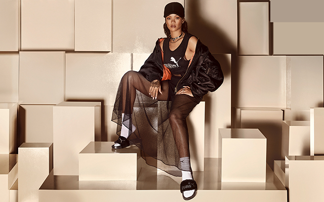 Now available: Rihanna's Fur Slide by Fenty