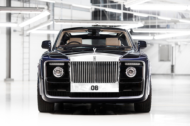 Automotive haute couture: Rolls-Royce presents the one-of-a-kind Sweptail