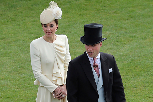Inside the British royal garden party
