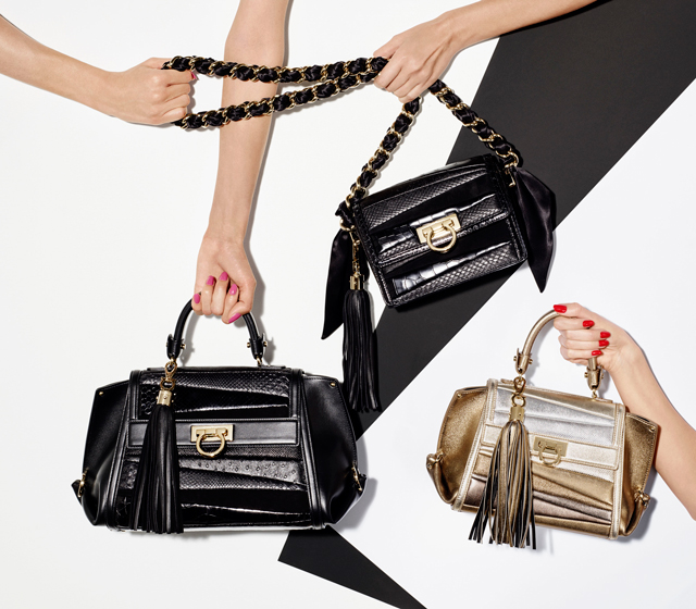 Sara Battaglia for Salvatore Ferragamo: A bag collection
