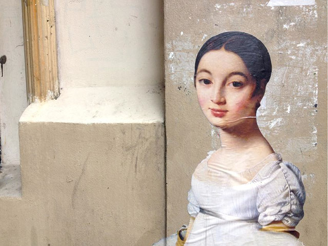 The new street art initiative setting portraits free from their museum displays