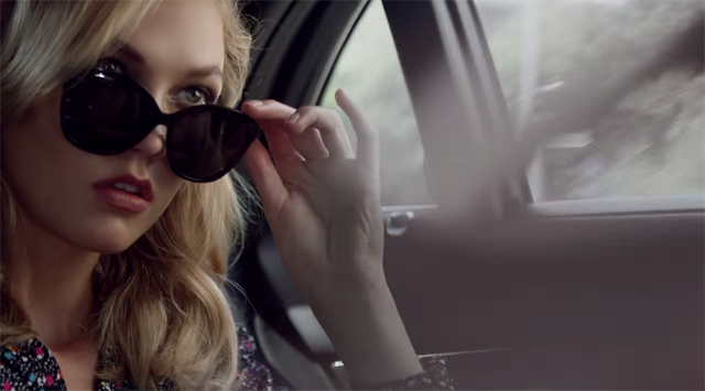 Introducing DVF Secret Agent: A Film by Peter Lindbergh starring Karlie Kloss