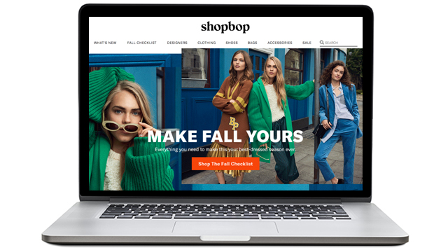 Exclusive: Shopbop debuts new look, new logo