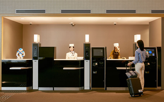 Step inside the world's first hotel run entirely by robots