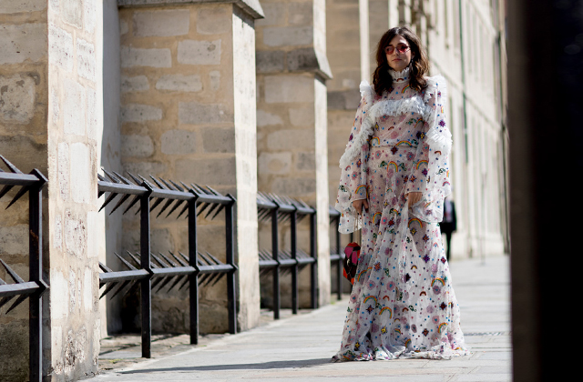 Paris Haute Couture Fashion Week: Street Style Fall/Winter '17