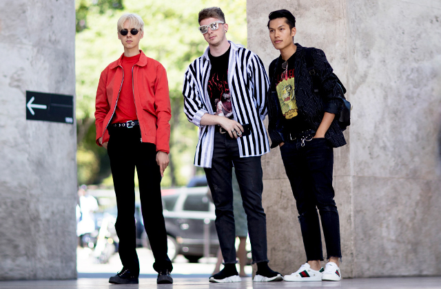 Men's Paris Fashion Week SS18: Street style
