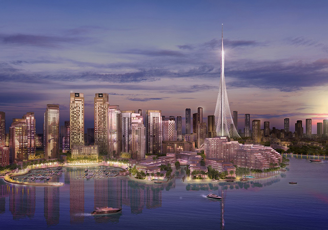 Sky high: Dubai's tallest new landmark, The Tower