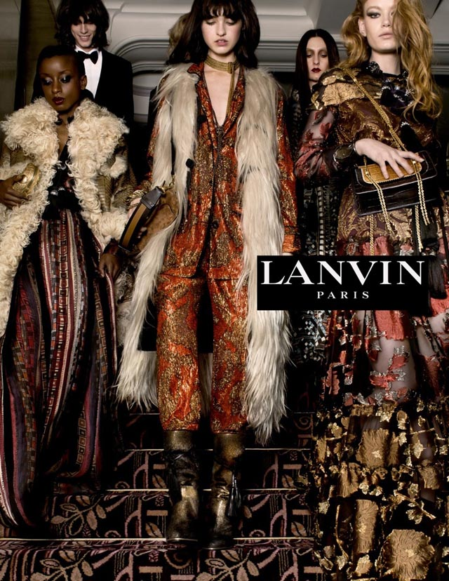 First look: Tim Walker shoots the new Lanvin campaign