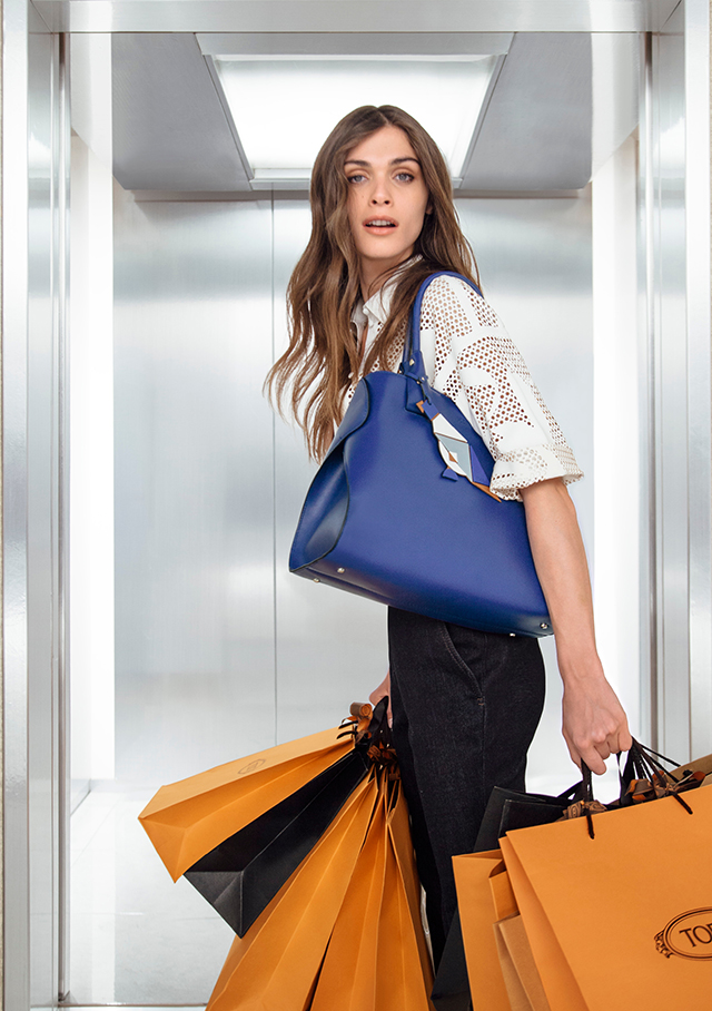 Tod's premieres 'The Virtuous Elevator' video with Elisa Sednaoui
